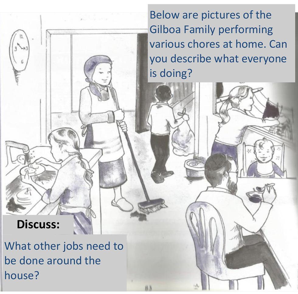 Gender roles in schoolbooks