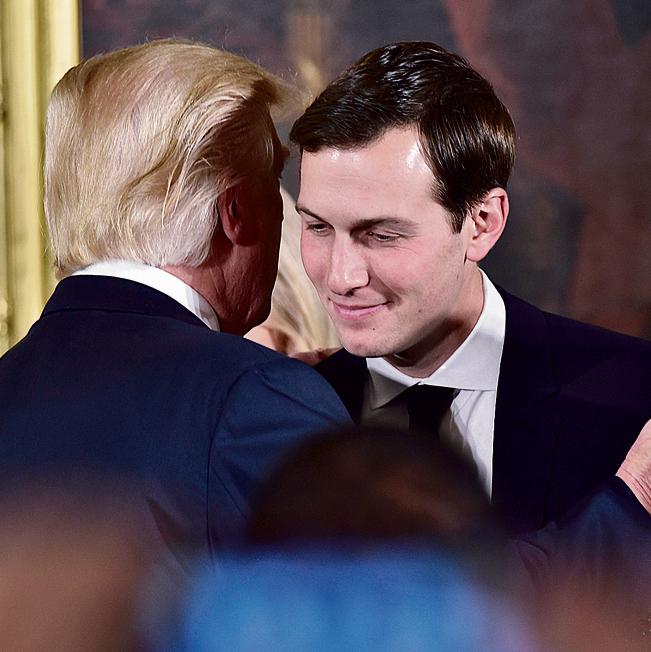 """עם טראמפ. הנשיא כינה את התוכנית של קושנר """"דיל המאה"""" ואמר: """"מדינות ערב לגמרי בצד שלנו"""""""