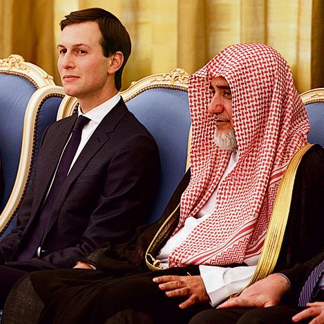 """בסעודיה. שיכנע את טראמפ שהביקור בה ישתלם כלכלית לארה""""ב"""