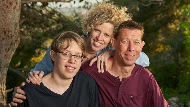 משפחת פלדמן (צילום: צביקה מאור)
