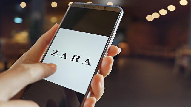 Приложение Zara. Фото: shutterstock