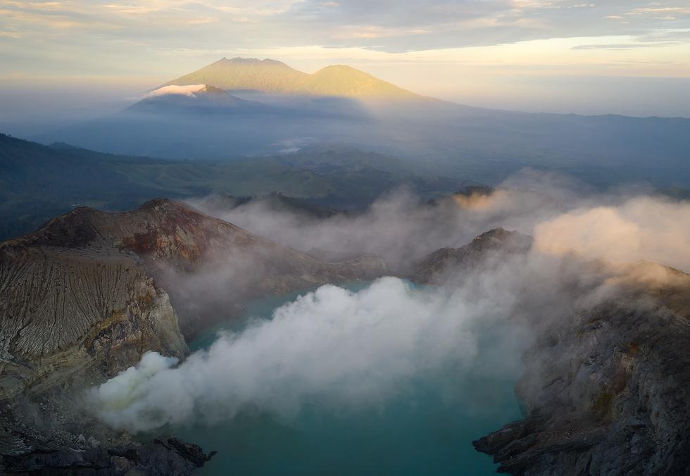 הר הגעש קאווה איג'ן (צילום: ארז מרום)