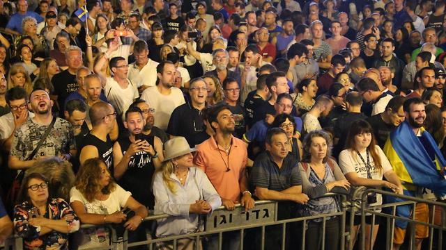 מופע גלוריוס בנמל תל אביב, אירוויזון 2019 (צילום: מוטי קמחי)