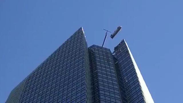 מנקי חלונות חולצו מגובה 50 קומות אוקלהומה סיטי ארה