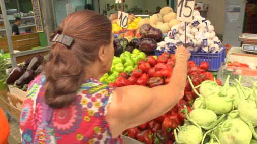 Овощи и фрукты все время дорожают. Фото: Ури Давидович