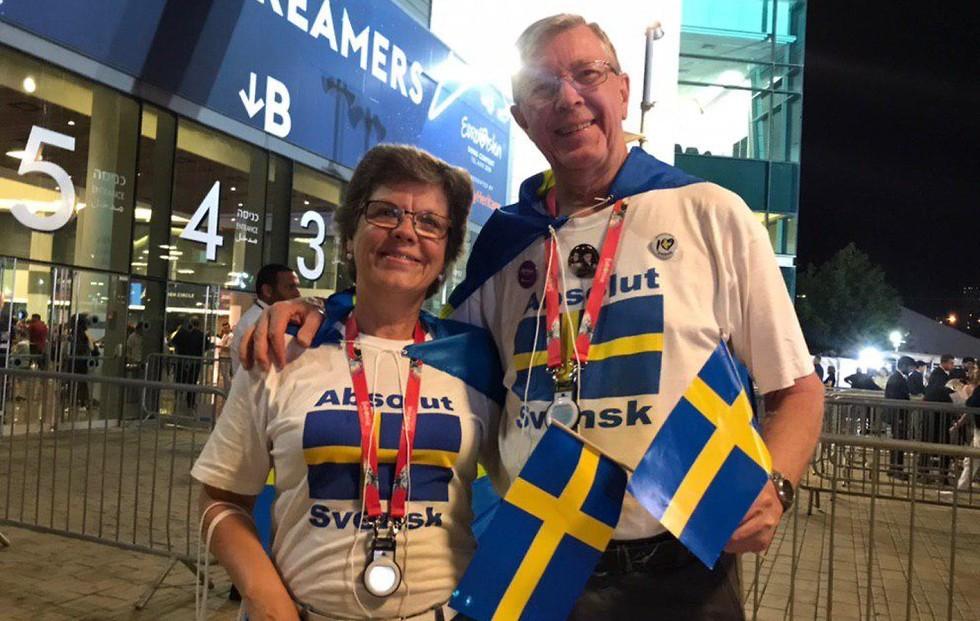 מעריצים של שבדיה (צילום: רועי אלמן)