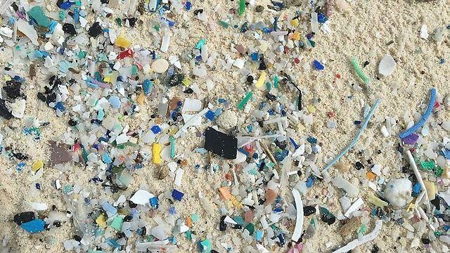 האיים שמוצפים בפסולת פלסטיק (צילום: AFP)