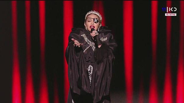 Мадонна на Евровидении. Фото: КАН