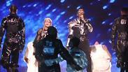 מדונה מתחם אקספו אירוויזיון האירוויזיון תל אביב 2019 (צילום: באדיבות כאן תאגיד השידור הישראלי)