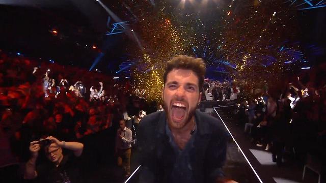 הולנד דנקן לורנס זוכה אירוויזיון אירוויזיון כפר האירוויזיון תל אביב 2019 (צילום: באדיבות כאן תאגיד השידור הישראלי)