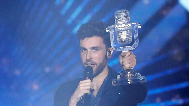 הולנד דנקן לורנס זוכה אירוויזיון אירוויזיון כפר האירוויזיון תל אביב 2019 (צילום: רויטרס)