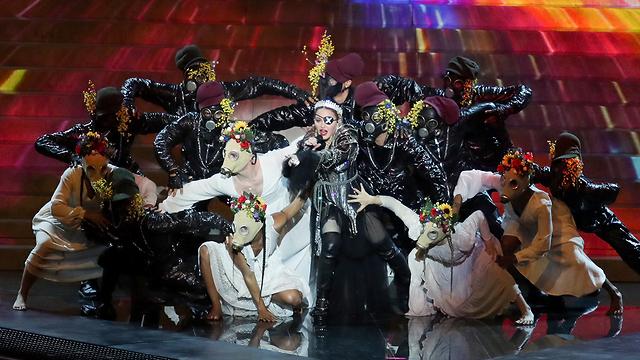 Выступление Мадонны. Фото: Орен Ахарони