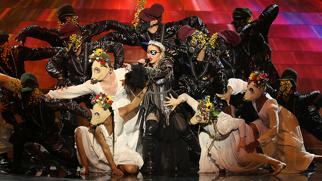 Madonna performs at the Eurovision Grand Final in Tel Aviv  (Photo: Reuters)