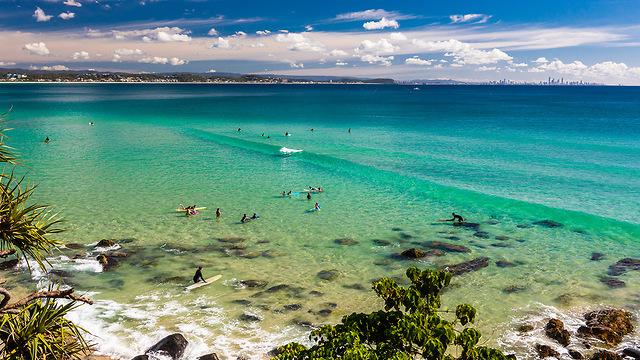 חוף הזהב, אוסטרליה (צילום: Depositphotos)