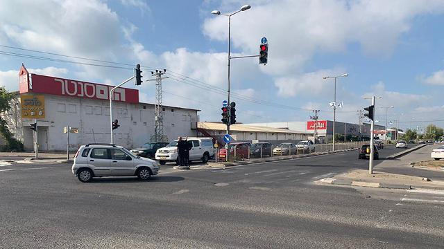 צומת הום סנטר נפתחה בחיפה (צילום: דוברות עיריית חיפה)