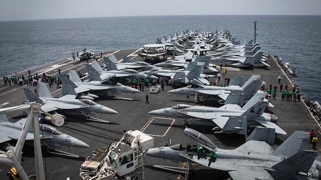 The USS Abraham Lincoln (Photo: AP)