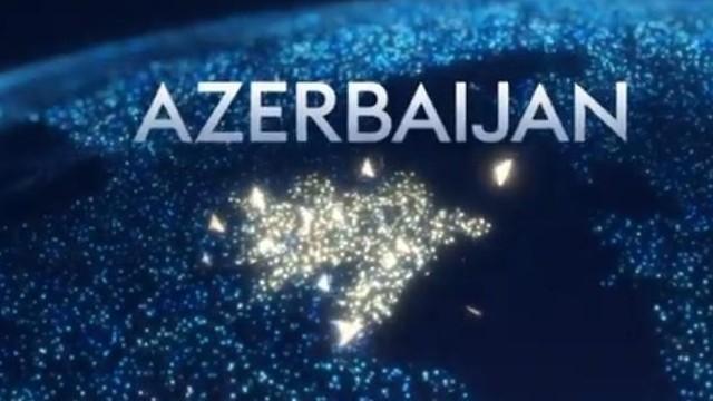 אזרבייג'ן אירוויזיון 2019 מוחים על המפה שהוצגה ()