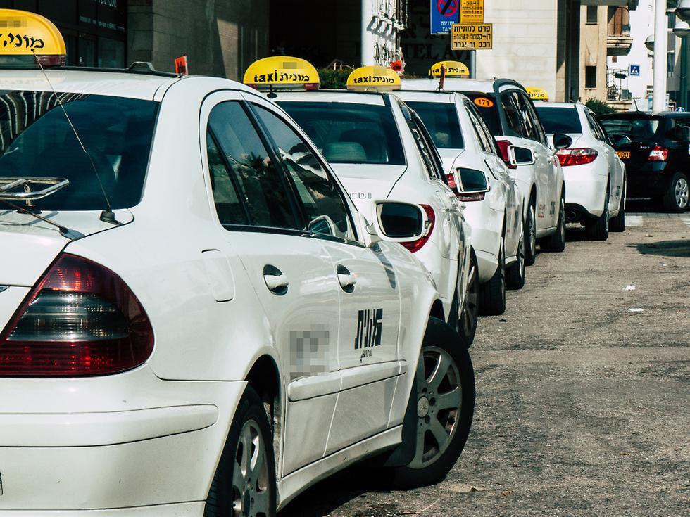 מוניות מונית (צילום: shutterstock)