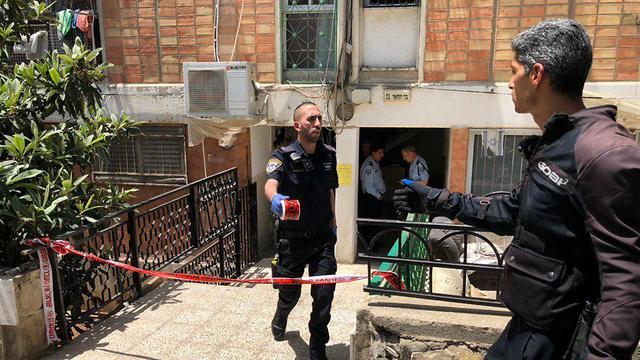 רצח ב ירושלים  (צילום: גיל יוחנן)