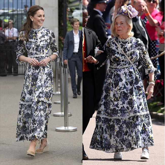 מי לבשה את זה טוב יותר? דוכסית קנט וקייט מידלטון (צילום: Gettyimages)
