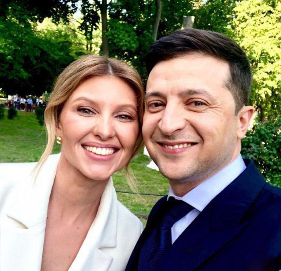 Елена и Владимир Зеленские. Фото: инстаграм