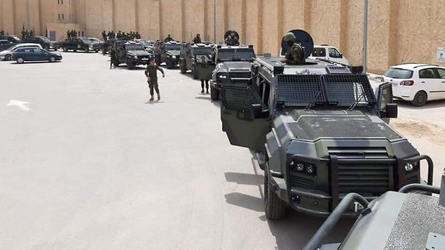 Armored vehicles for PA