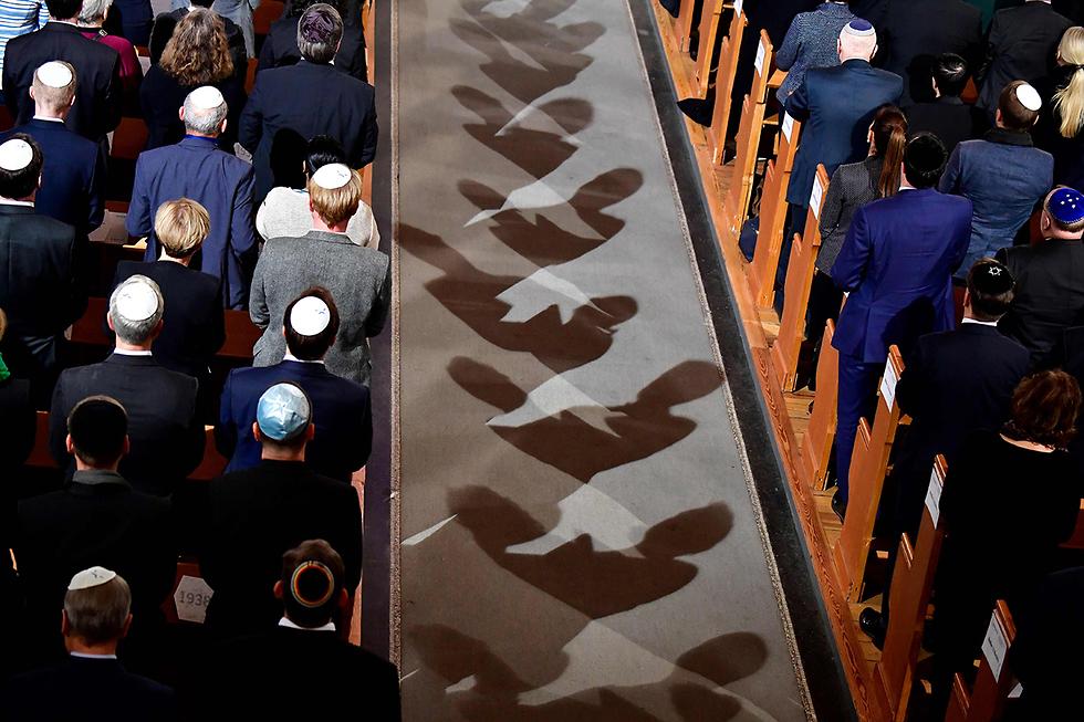 בית כנסת ברלין גרמניה בחירות לפרלמנט האירופי אירופה (צילום: AFP)