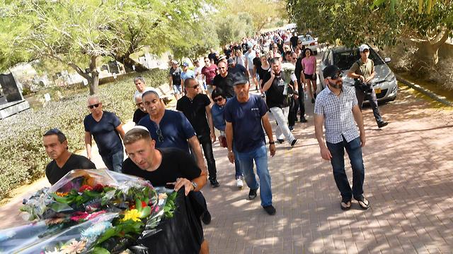 Похороны Сергея Семенова. Фото: Хаим Горенштейн