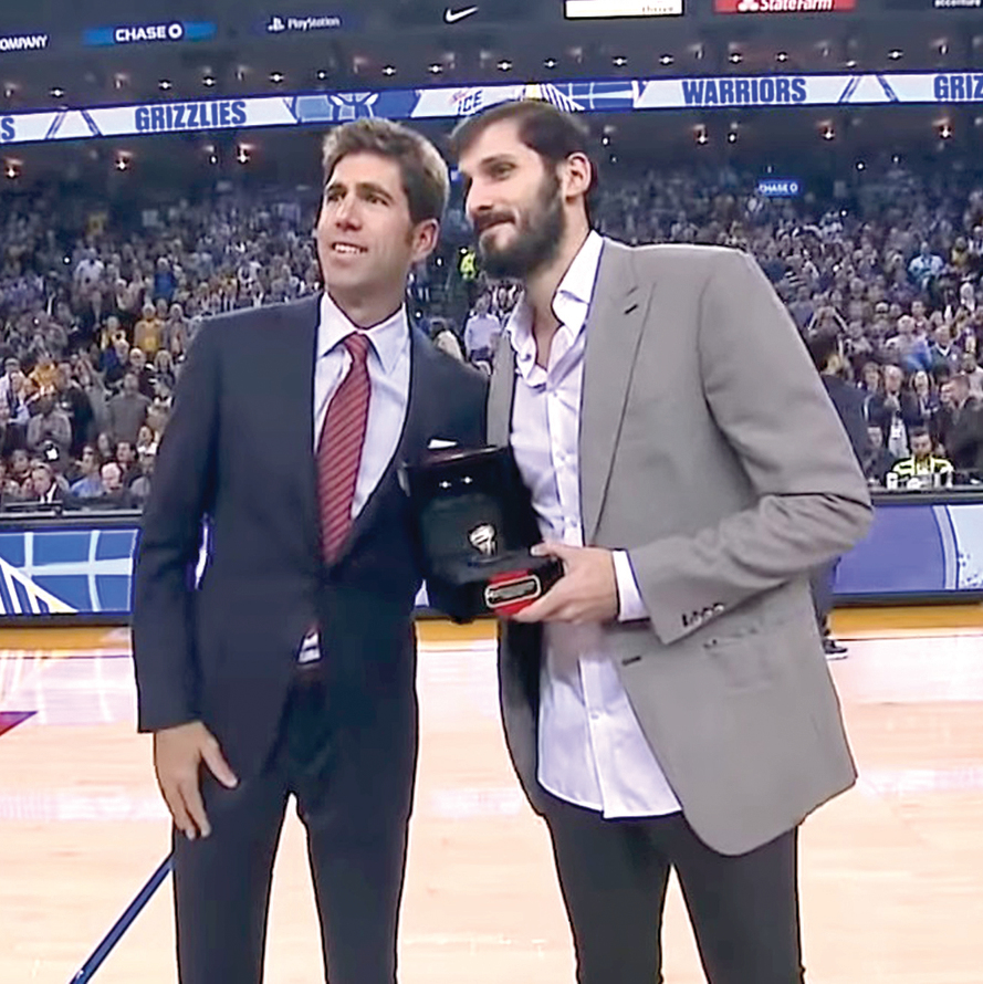 """נובמבר 2018 . כספי מקבל בטקס מיוחד את טבעת אליפות ה־ NBA . """"זה היה רגע השיא בקריירה שלי. אני צרוב באליפות ההיא. הטבעת נמצאת בבית הוריי, בכספת"""""""