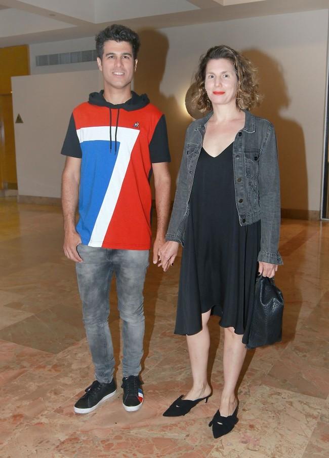צעיר נצחי. טל מוסרי ואשתו נועם (צילום: ענת מוסברג)