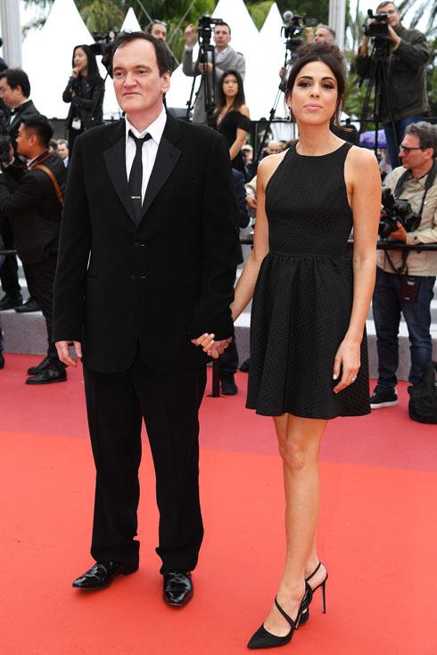 דניאלה פיק בשמלה שחורה (צילום: Pascal Le Segretain/GettyimagesIL)