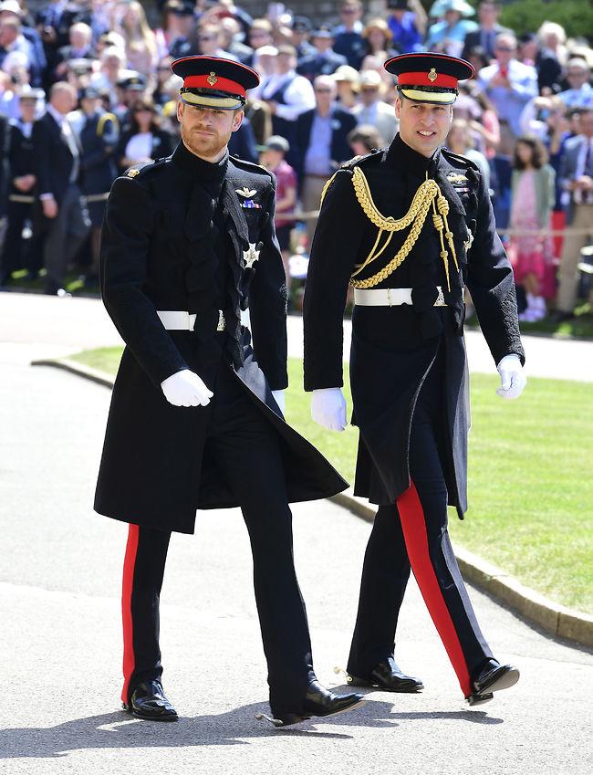 נאמר כבר הכל. הנסיך וויליאם והנסיך הארי (AP)