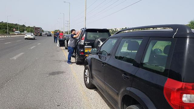 Protest convoy
