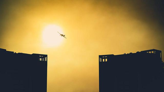 מטוס כיבוי (צילום: מיכאל זץ )