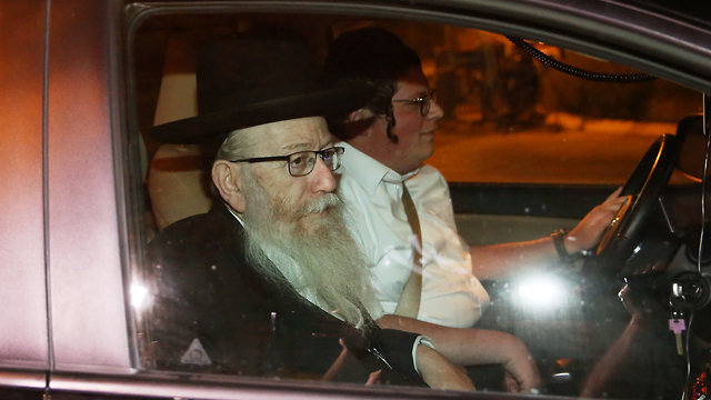 Ultra-Orthodox parties leaving coalition talks (Photo: Alex Kolomoisky)