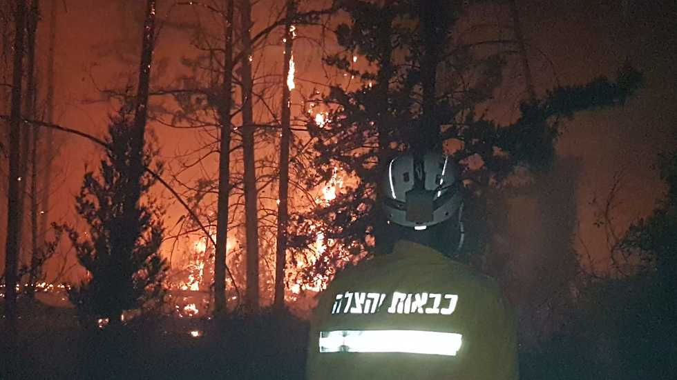 Major blaze near Tarom