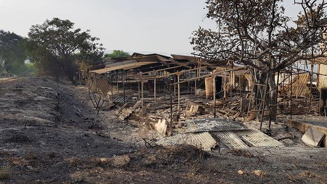 Homes damaged, Harel