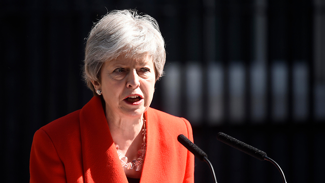 May announcing her departure