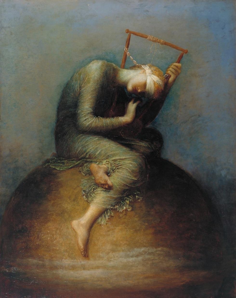 הציור של ג'ורג' פרדריק וואטס (צילום: מתוך ויקיפדיה)