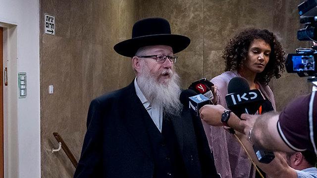 United Torah Judaism MK Yaakov Litzman (Photo: EPA)