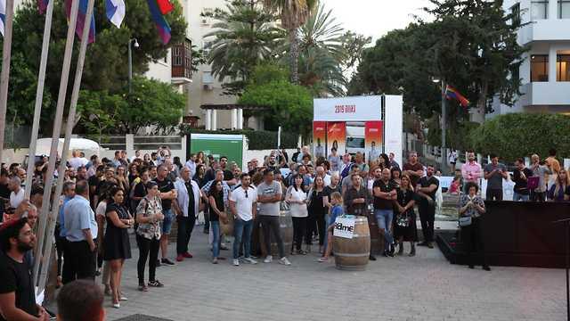 אירוע השקת אירועי יום הגאווה (צילום: נועה גוטמן)
