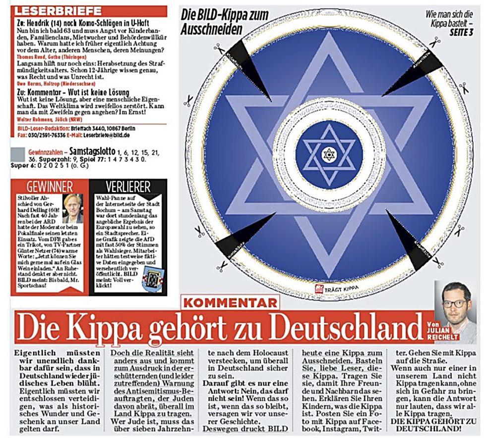 שער העיתון הנפוץ בגרמניה, ה