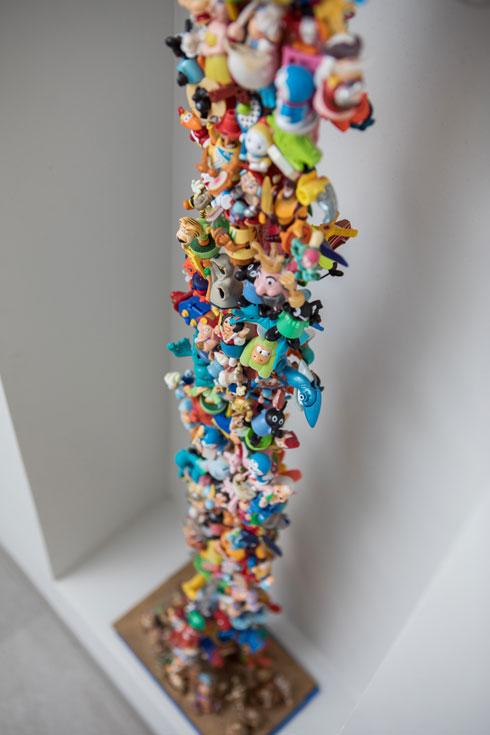 קשקושי פלסטיק של ילדים (צילום: שירן כרמל)