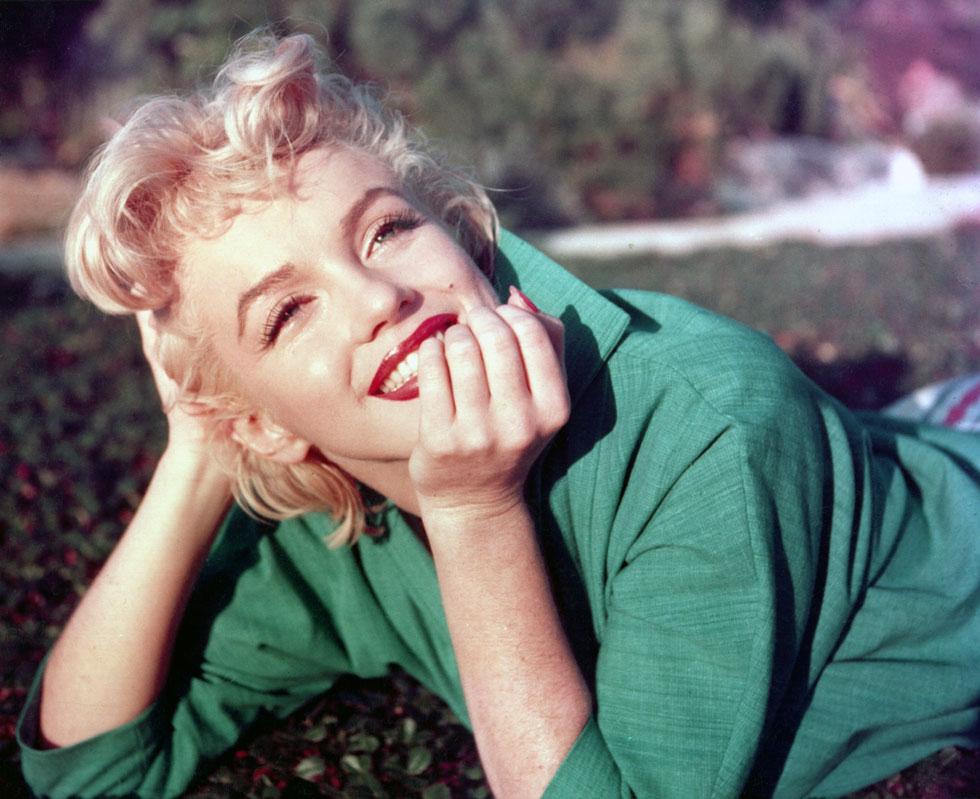 הרבה ניסו להעתיק אותה, אך אף אחת לא באמת הצליחה. מרילין מונרו, 1954 (צילום: Baron/GettyimagesIL)