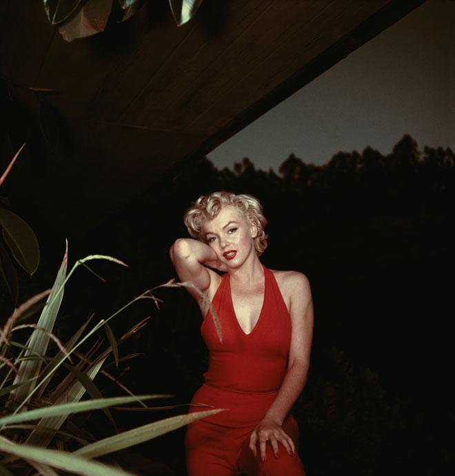 קימורים וסקס אפיל. מרילין מונרו, 1954 (צילום: Baron/GettyimagesIL)