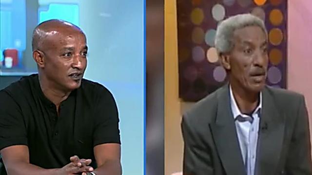 Ferede Aklum (à droite) et Amram Aklum