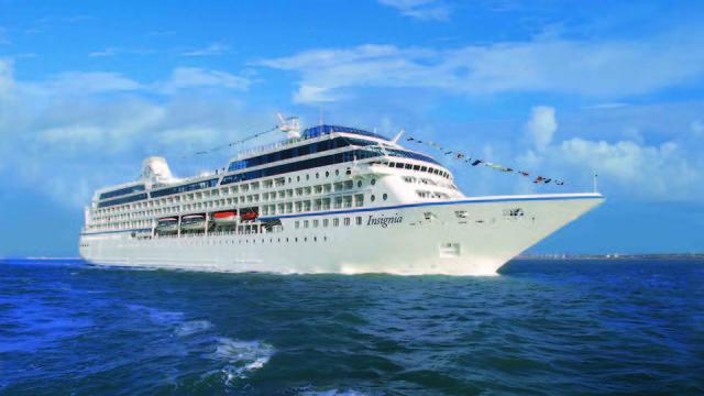אונייה אינסיניה Insignia (צילום: אושיאניה קרוזס)