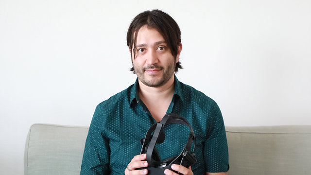 דניאל גונזלס (צילום: דנה קופל)