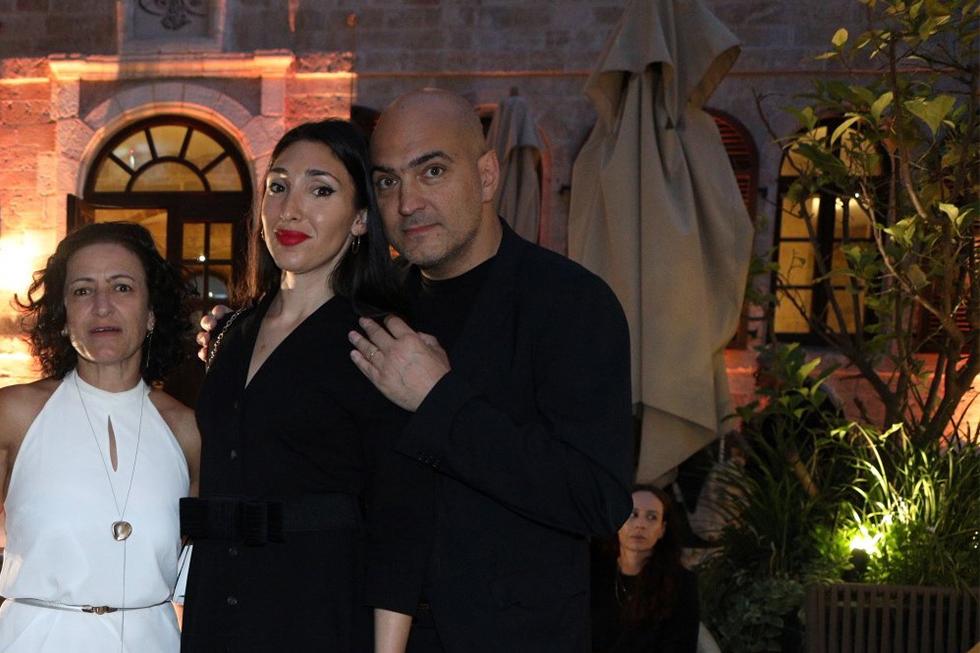 אלברטו ביאגטי, לאורה בלדסארי וטלי לוין (צילום: אסף לב)