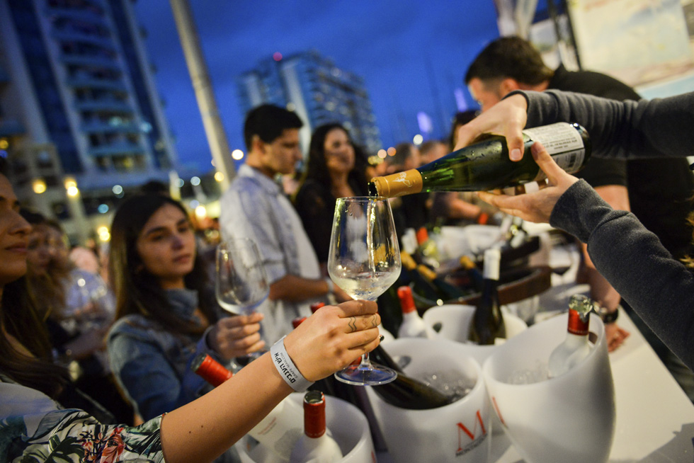 Фестиваль вина в Герцлии. Фото: пресс-служба